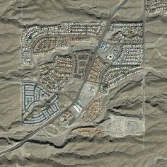 Martian suburbia? via THE JEFFERSON GRID