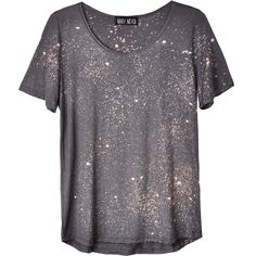 Galaxy tee in steel by Mary Meyer