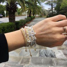 Chan Luu adjustable charm bracelet #chanluu #armcandy