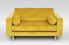 Avenue-Yellow-Velvet-Loveseat7