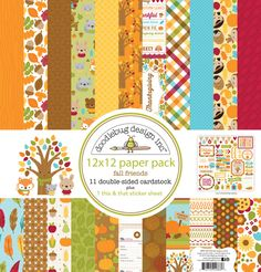Scrapbooking Paper 6 PER SHEET Patio Party RECIPE CARDS 12x12 Dbl-Sided 1PC