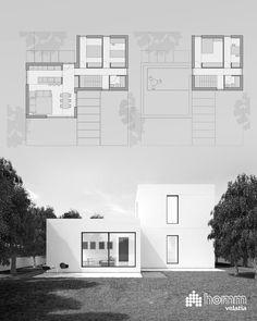 Bunkhouse Plans 705728204096819884 - Source by renatoncardenas Modern House Plans, Modern House Design, House Floor Plans, Planer Layout, Villa Plan, Facade Architecture, Modular Homes, House Layouts, Plan Design