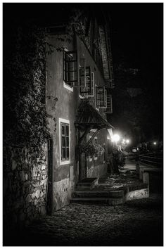 Photograph night Krumlov by Václav Verner on Czech Republic, Creepy, Night, World, Fujifilm, Darkness, Photograph, Photography, Photographs