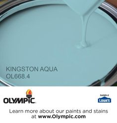 KINGSTON AQUA OL668.4 is a part of the aquas collection by Olympic® Paint.