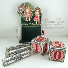 From My Craft Room - has the pattern for the box too. She also has beautiful cards. I love the way she decorates the inside of her cards!!