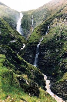 Grey Mare's Tail near Moffat, went with Norah many years ago