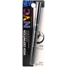NYC New York Color High Definition Liquid Eyeliner - Extreme Black - I've been hearing good things about this eyeliner and its cheap, have to try!