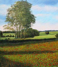 Fioritura nella Mia Terra - Acrilico su Tela - 60x70cm - 2016 - Flowering in my Land - Acrylic on Canvas 60x70cm - 2016