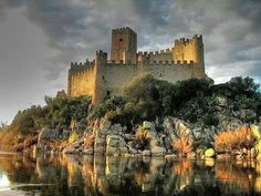 Almourol's Castle, Portugal #Most amazing photos in the world