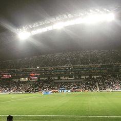 Que cosa tan hermosa @rayadosoficial #estadiobbvabancomer #monterrey #rayados #soccer