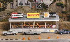 David Beattie Makes the World's Most Extravagant and Realistic Slot-Car Tracks - Slide 37 Race Car Sets, Slot Car Sets, Ho Slot Cars, Slot Car Racing, Slot Car Tracks, Race Cars, Race Tracks, Pov Camera, Track Pictures