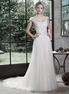 Caitlyn Bridal Gown... Love a lot of these Maggie S dresses