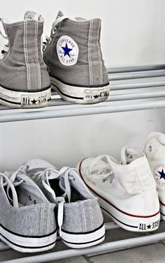 All star Converse Converse All Star, Mode Converse, Converse Shoes, Gray Converse, Converse High, Converse Style, Tenis Tipo All Star, Looks Style, Moda Masculina