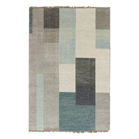 Blue Grey Rectangle 5 X 7 6 X 9 Area Rugs | Lowe's Canada