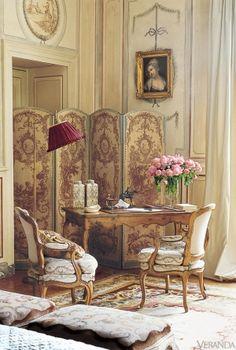 French Gardens - French Houses - Veranda
