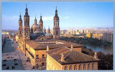 Bonita imagen de #Zaragoza. Foto de http://andarverycontar.blogspot.com.es/