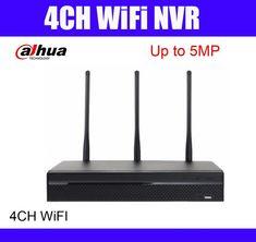 Dahua 5mp 4ch wifi NVR NVR4104HS-W-S2 wireless 4 Channel Smart Mini ONVIF Network Video Recorder  Price: 246.00 & FREE Shipping  #tech|#electronics|#gadgets|#lifestyle 4 Channel, Ip Camera, Sd Card, Wifi, Free Shipping, Electronics Gadgets, Tech Gadgets, Mobile Security, Mobiles