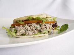Silver Palate | Tuna Pita Sandwiches featuring Silver Palate Champagne Mustard Splash