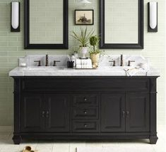 Impressive White Bathroom Vanities Interior