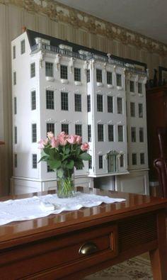 This is a big Dollhouse.....   Rick Maccione-Dollhouse Builder www.dollhousemansions.com