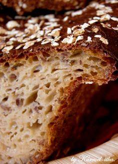 W kuchni Karmel-itki.: VII World Bread Day. - CHLEB PEŁNOZIARNISTY DROŻDŻOWY NA MAŚLANCE.