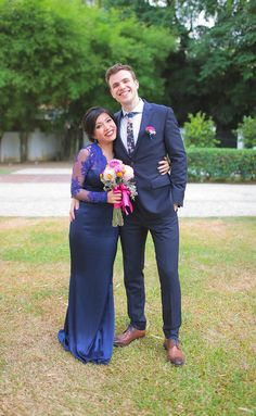 Hubert and Tsu Ann's 'East Meets West' Wedding in Penang