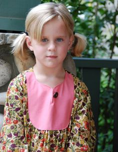 Long sleeve Girls dress made from the finest by SchoolHouseFrock, $74.00