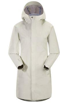 f76da018105a Codetta Coat Women s Waterproof, three-quarter length GORE-TEX® rain jacket  with