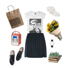 Untitled #38 by kittymaid on Polyvore featuring polyvore fashion style Daniel Wellington John Lewis Dot & Bo
