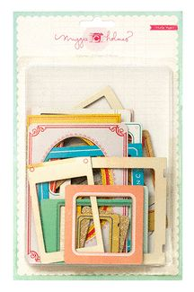 American Crafts - Crate Paper - Maggie Holmes Collection - Styleboard - Frames