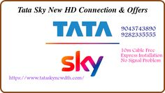 Our technician reaches your place within 3 hours and installs Tata Sky in the right place. Now enjoy DVD quality picture and CD-quality sound where each Channel comes in perfect clarity. Lot of Packages and offers available only in Tata Sky. Dish Tv, Free Sky, Sky New, Chennai, High Definition, Customer Service, Clarity, Connection, Technology