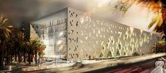 Institute of Diplomatic Studies in saudi Arabia by Henning Larsen Architects