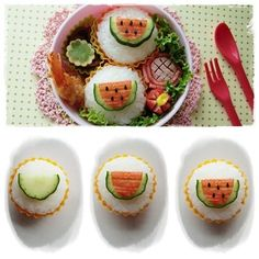 watermelon bento