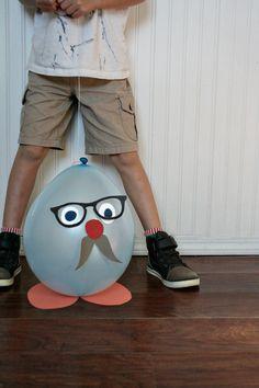 balloon peeps (DIWY)  http://www.armommy.com/kid-stuff/balloon-peeps-diwy/