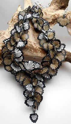 Runway and Statement inspired Polymer Clay Jewelry - Gloria Danvers