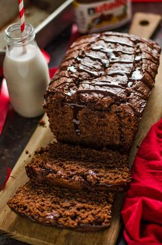 5 Ingredient Nutella Banana Bread. This moist, chocolate banana bread is unbelievably easy to make.