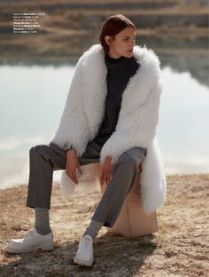visual optimism; fashion editorials, shows, campaigns & more!: rene linjer: fia ljungstrom by hordur ingason for elle norway january 2015