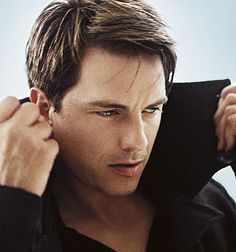 John Barrowman from Torchwood. I know we don't play for the same team, but I'm still in love with him. lol