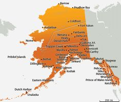 It's actually my goal to drive to Alaska and see its sites by taking a ferry that carries cars and people to various coastal cities. From there I can go wherever they'll let me drive.