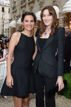 Virginie Ledoyen and Carla Bruni-Sarkozy