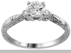 I LOVE this ring. Love it. LOVE. I love it with the radiant and the marquis cut. <3