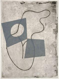 Jean Arp, (1886-1966), 1960, À travers les myrtes du rêves (Through the myrtles of dream), Serie: Vers le blanc infini. on ArtStack #jean-arp #art