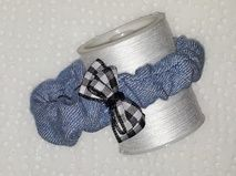Denim Bow Bracelet - Angel Creations  http://angelscreation.webs.com/apps/webstore/products/show/3216430