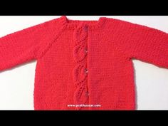 Domain Default page Knitted Baby Cardigan, Knit Baby Sweaters, Crochet Baby, Knit Crochet, Baby Knitting Patterns, Kids And Parenting, Baby Dress, Lana, Clothes