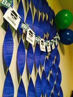 1000 ideas about breaking bad birthday on Breaking Bad Party, Breaking Bad Birthday, Diy Birthday Decorations, Birthday Party Themes, Birthday Table, Breking Bad, Toddler Boy Birthday, Grown Up Parties, 55th Birthday