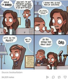 10/10 would happen<< The thing in the 3rd panel says Obama means family, and I think that's great