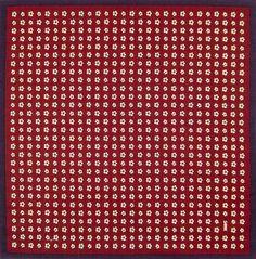 Sakura Komon (Cherry Pattern) - Bordeaux