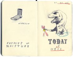Moleskine by David Fullarton, via Behance