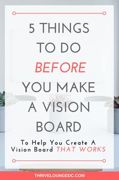 Printable Vision Board Template  Print Out This Fun Template And