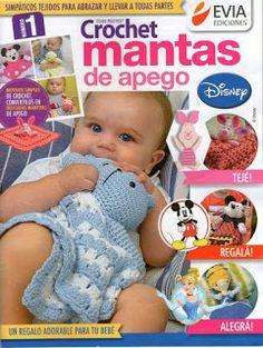 Lãs e Trapilhos - Artes e Reciclagens: Mantas Naninhas em crochet para bebês